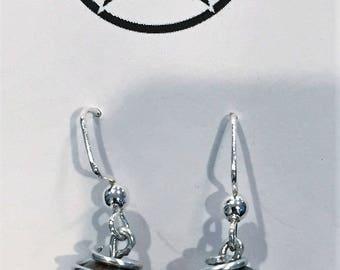 Blue Jasper Earrings