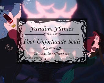 Poor Unfortunate Souls - Soy Candle