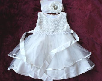 Baby girl baptism dress   Etsy CA