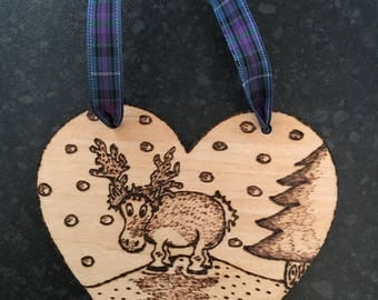 Christmas decoration: Reindeer I