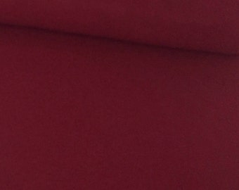 Burgundy Flannel Fabric, Solid Flannel Fabric by the Yard, Red Fabric,  Quilting Fabric, Apparel Fabric, Cozy Fabric, 100% Cotton fabric