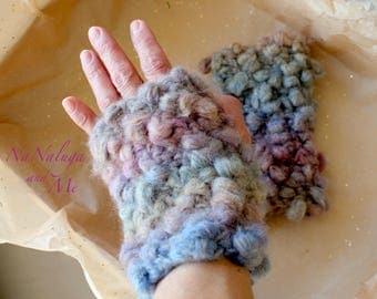 Mittens without fingers - Hand warmers - Gloves - Glove mitten withount fingers - Fingerless gloves - Fingerless mittens