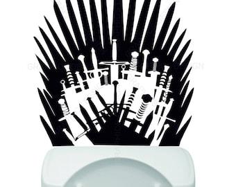 Iron Throne Silhouette Iron throne decor | Et...