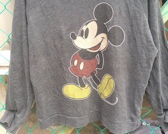 Vintage Mickey Mouse Disney x Forever 21 Sweatshirt Size L