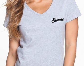 Blondie shirt, Blonde shirt, Unisex shirt, Fashion shirt, Women clothing, Women top, Women tee, Workout shirt, women fashion