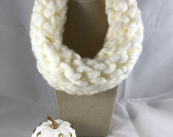 Cowl Scarf - Chunky Cowl - Cowl - Chunky Scarf - Knitted Scarf