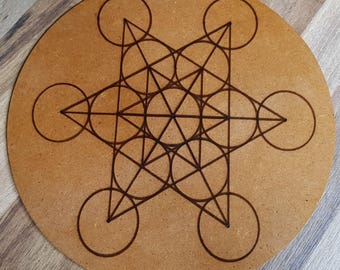 Metatron's Cube - Crystal Grid Base