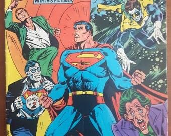 DC Comics Presents Vol 1 No. 71 Canadian Cover Variant 1984 DC Comics Superman And Bizarro!