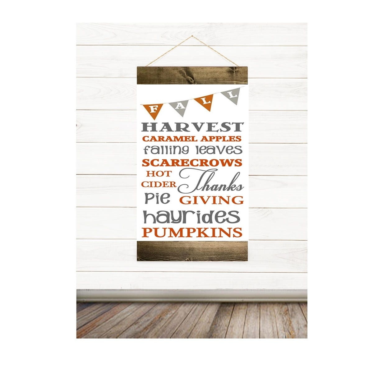 Fall Canvas Banner, Wall Decor, Living Room Wall Decor, Dining Room Wall  Decor