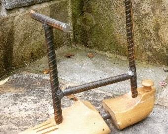 Wooden Shoe Stretcher Jewlery Tree