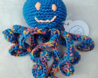 Octopus plush ~ Carolyn