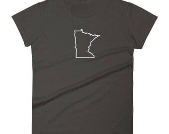 Love St Paul - Heart MN Women's Short Sleeve T-Shirt