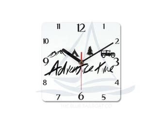 Land Rover Defender Expedition Clock, Novelty, Defender, Truck, Defender Gift, Cars, Defender, Land Rover 90, Land Rover 110, Land Rover 130