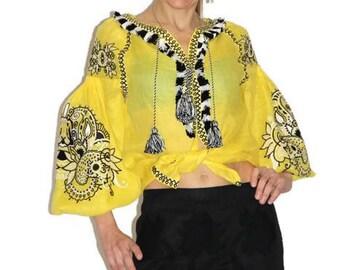 Ukrainian Embroidery Vyshyvanka Blouse Vishivanka Bohemian Clothing Boho Clothes Ethnic Ukraine Folk style Linen Embroidered Blouses