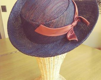 Bullock's Wilshire Straw Hat