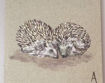 Cuddling hedgehogs