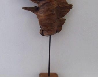 unusual natural wood sculpture - asprewood
