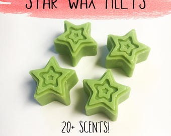 Star Wax Melts - Wax Melts - Candles - Soy Wax Melts - Soy Tarts - Star Shaped Melts - Home Fragrance - Wax Cubes - Scented Wax Melts - Wax