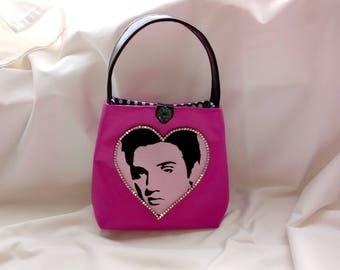 Elvis Presley Pink Handbag