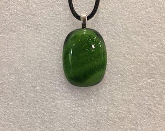 Small Green Aventurine Pendant