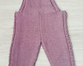 Kuzzy Design Baby Romper,Baby Knitted Romper,Baby Knit Romper,Baby Knitted Sets,Newborn/3/6/9/12 months Knitted Rompers,Knitted girls romper