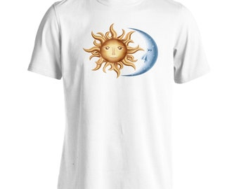 Moon and Sun Men's T-Shirt v620m