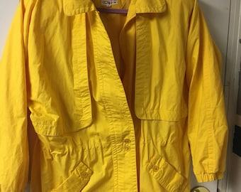 Vintage rare Talbots jacket. Yellow.