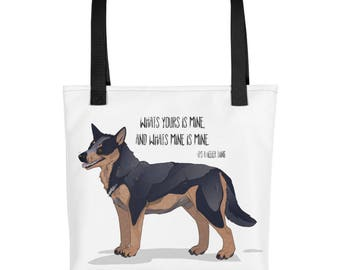 Blue Heeler Tote bag - Its a Heeler Thing