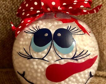 Snowman ornament, snowman, christmas, Christmas ornament,