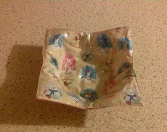 Christmas Fabric Bowl