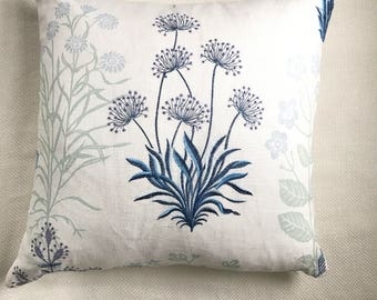 Custom Embroidered Pillows-  a pair