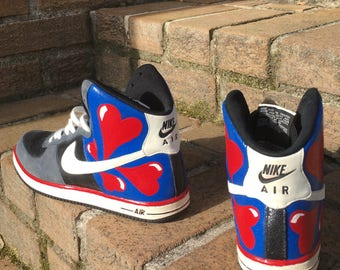 CUSTOM SHOES (HEARTS)