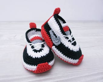 Crochet baby shoes Baby sneakers Baby booties Baby shoe Crochet baby boy Newborn boy shoes Baby shoes boy Crochet shoes Soft baby slippers