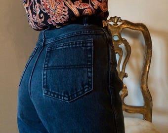 Dark Blue High-Waisted Vintage L.A BLUES Mom Jeans