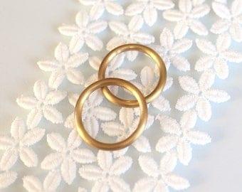 Wedding rings wedding ring partner rings made of 18k gold