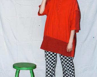 Vintage Oversized Red T-shirt