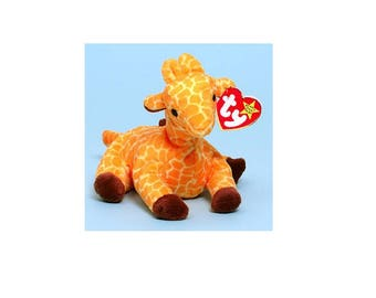 Ty Beanie Babies Twigs the Giraffe 1995 Generation 4 Version 5