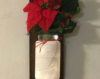 Vintage Mason Jar Wall Decor