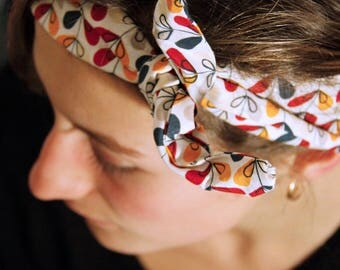 Handmade hairband * flower *.