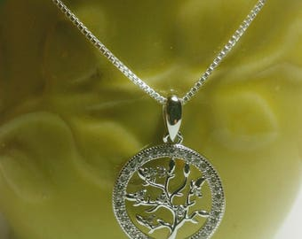 Tree of Life Pendant and Necklace ,Tree of life Sterling Silver Pendant