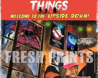 Stranger Things poster print