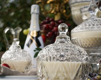 Large Trinket Soy Feature Candle - OLERIA EMPORIUM