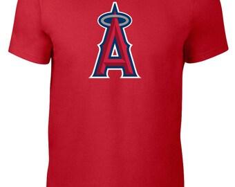 Los Angeles Angels of Anaheim T Shirt Jersey MLB Baseball Plus Sizes S-5xl Tee 112