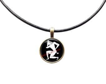 Minotaur necklace Occult pendant Magic jewelry Mythology charm