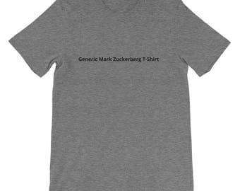 Generic Mark Zuckerberg T-Shirt