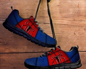 Spider Man Collector Running Shoes / Sneakers / Trainers - Kids, ladies & Men's sizes