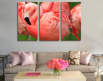 Flamingo  Wall Art Flamingo  Canvas Print Flamingo  Large Wall Decor Flamingo  Canvas Art Flamingo  Painting Flamingo  Poster Print Flamingo