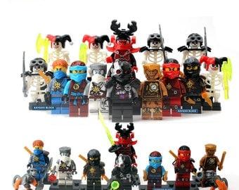 ninjago mini figures set of 16 figures