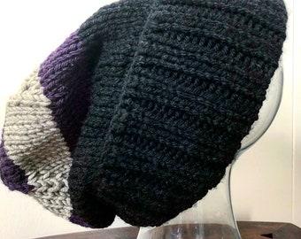 Colour Block Stocking Cap