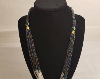 Maasai beaded necklace.
